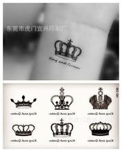 Water-proof stickers posted waters Harajuku Crown tattoo stickers HC-130