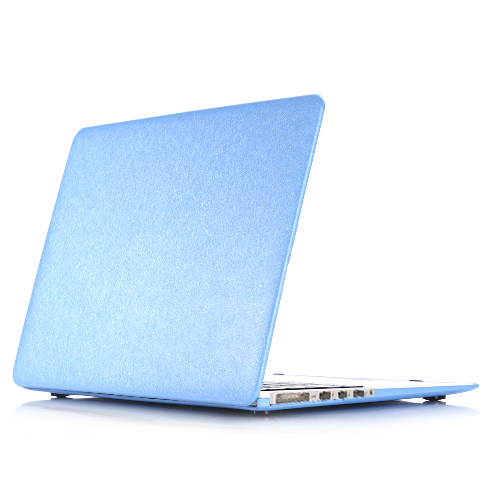 """Ultra Slim Laptop Case for Apple Macbook Pro 15-inch 15.4"""" Silk Pattern Leather Cover Snap-on Shell Protective Skin(China (Mainland))"""
