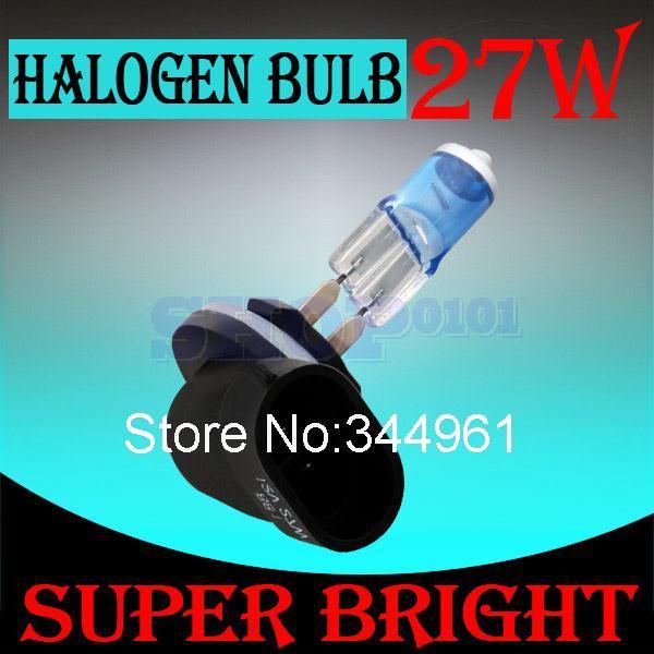 881 894 H27 Halogen Bulbs 27W super white Headlights fog lamps day light running parking 6000K