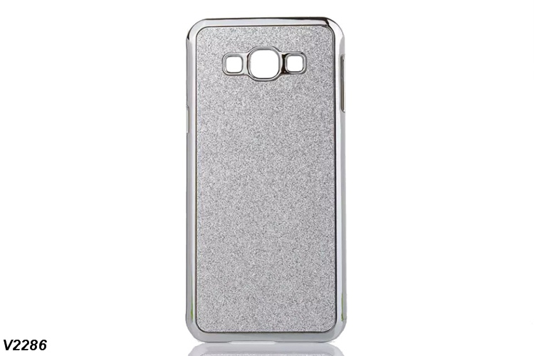 100X Alloy Plated Hard Case For Samsung Galaxy A8 A800F A8000 Glitter Bling Cover Crystal Cell Phone Cases(China (Mainland))