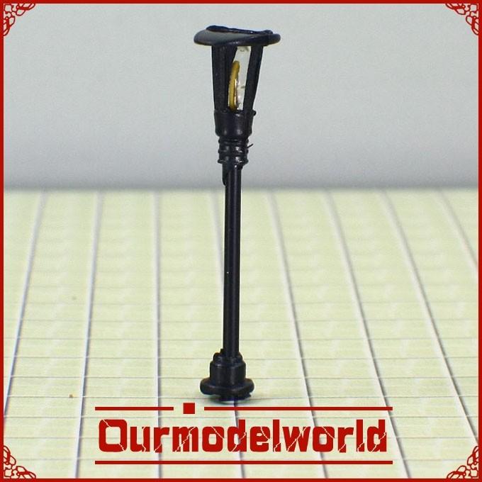 free shipping 100PCS 6V Scale Train Layout Model Lampposts Lamp Lights T5(China (Mainland))
