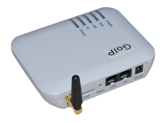 GOIP 1 Chip GSM Gateway (IMEI Change, 1 SIM Card, SIP & H.323, VPN PPTP).SMS GSM VOIP Gateway - Promotion(China (Mainland))
