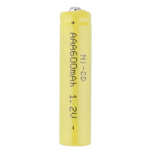 1 x 600mAh 1.2V Ni-CD AAA Rechargeable Battery For Househould Supply Hot promotion(China (Mainland))