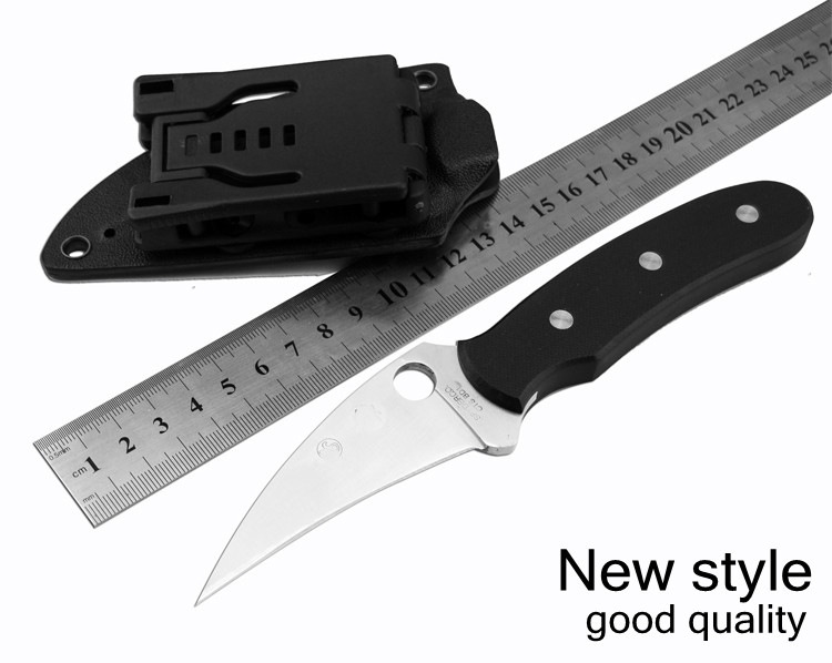 Buy Outdoor Karambit Knife 5CR15 Balde Hunting Knives Camping Tool Survival Tactical Knife Stainless Steel Scorpion Claw Knife cheap