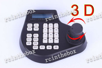 3 Dimension CCTV LCD Screen Display PTZ joystick keyboard controller Cam Camera