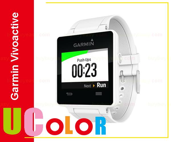 Genuine New Garmin Vivoactive Triathlon With Heart Rate Monitor Smart Watch White GPS Sports Swim(Hong Kong)
