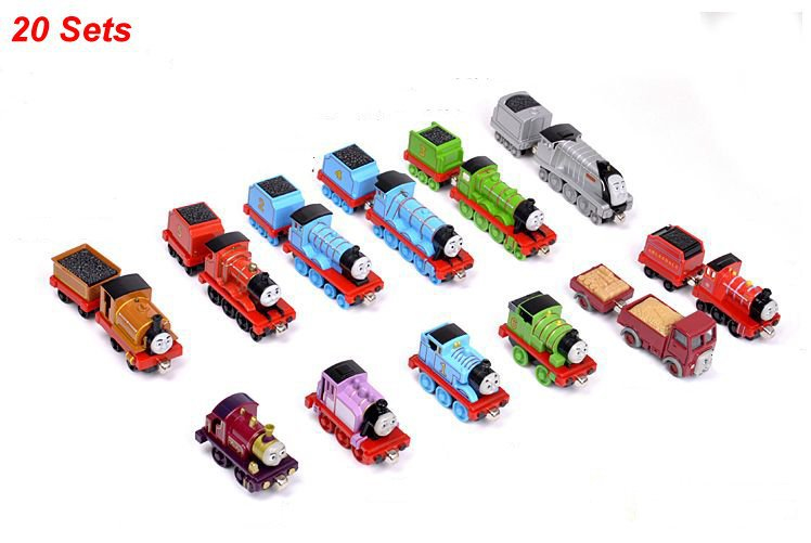 Free Shipping+20pcs Learning Curve Thomas &amp; Friends metal train Models collections (Mix order)<br><br>Aliexpress