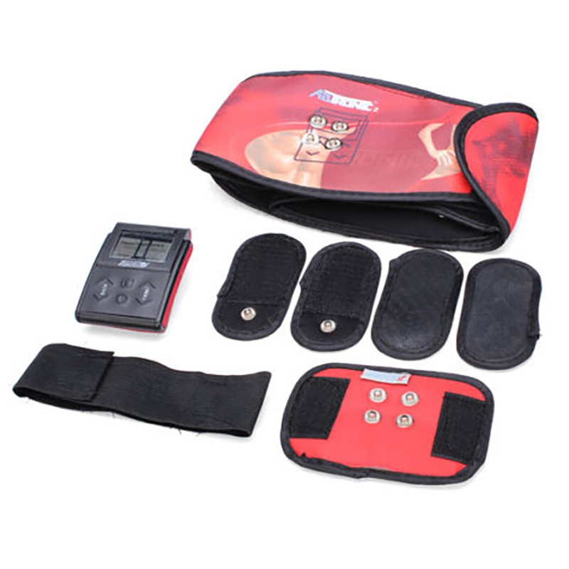 Hot Sale Ab Tronic X2 Dual Fitness Belt Slimming Belt Vibration BeltSlimming Vibrating Fitness Belt Release Muscles Exercise-6