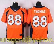 Men's free shiping A+++ quality Denver Broncos #88 Demaryius Thomas Elite(China (Mainland))