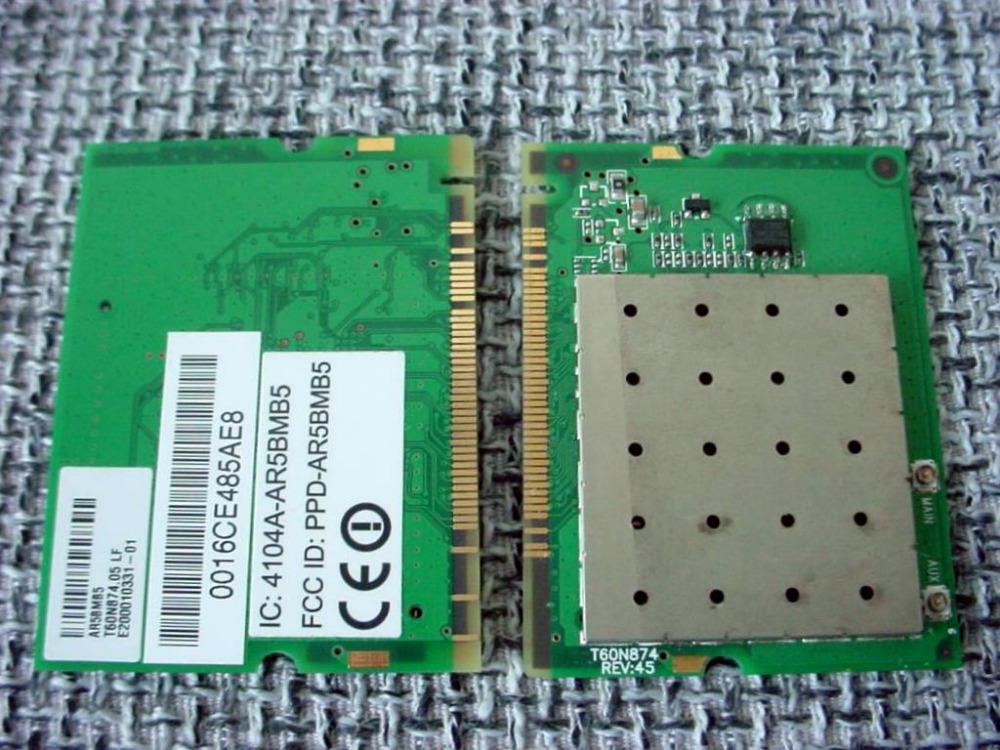 NEW A + AR5005G AR2413A AR5BMB5 Mini PCI Wireless WLAN Wifi Card 802.11 BG(China (Mainland))