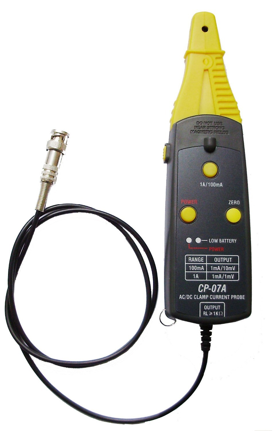 Low Current Probe : Low current noise ac dc clamp probe meter for