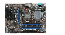 original motherboard for MSI P43-C51 DDR3 LGA 775 Solid Capacitor P43 Desktop motherboard Free shipping