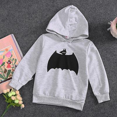 Baby Toddler Kids Boy Girl Clothes Hoo s Cartoon Batman
