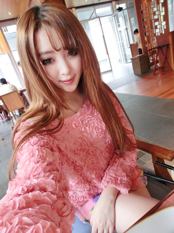2014 New Fashion Hot Sale Brand Pullover Women 3D Flowers Sweater Three Dimensional Roses Pullover Sweater Women(China (Mainland))