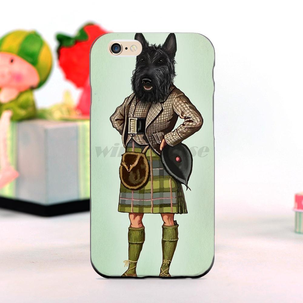 Scottie Dog font b Kilt b font scottish terrier Animal Newest Super Cute Phone Cases For