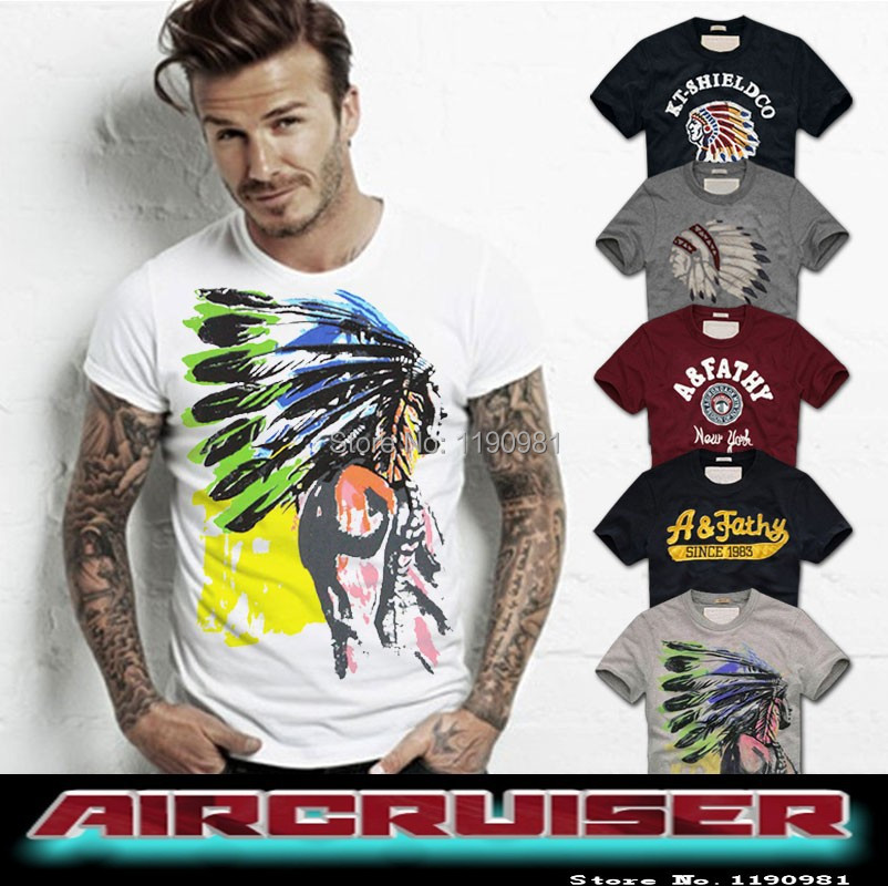 2015 New 100 Quality Cotton T Shirts Men Short Sleeve Summer Tops For Man Famous Brand