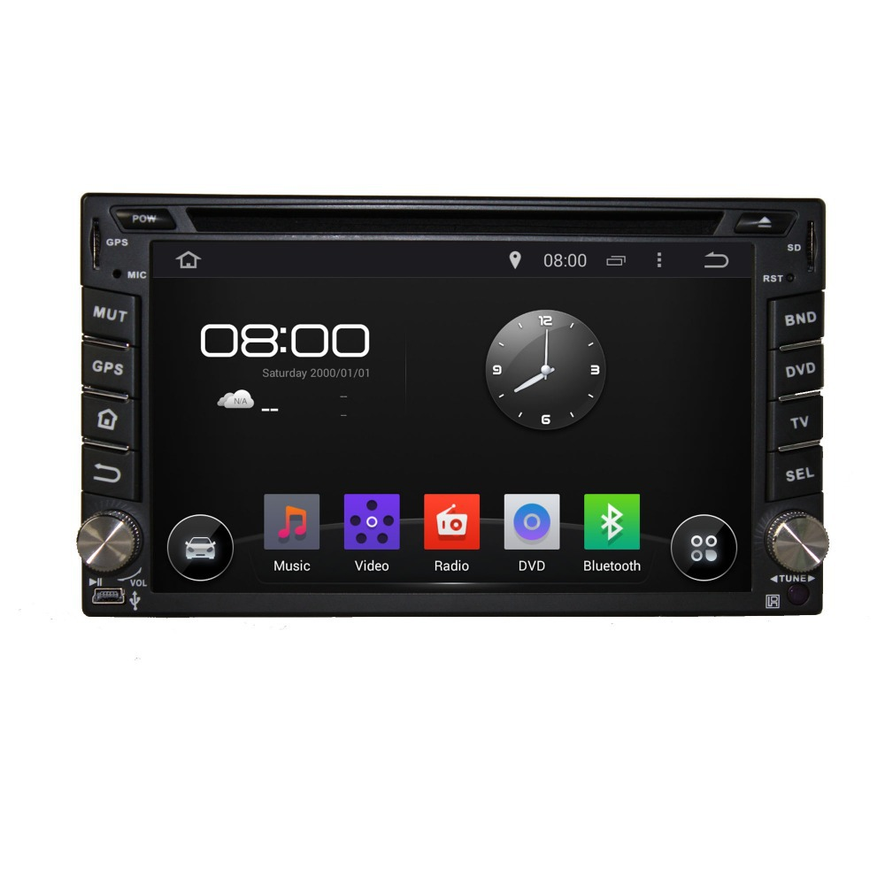 Two Din Android 4.4.4 system Car DVD for normal  Car Radio Double 2 Din Car DVD Player GPS(China (Mainland))