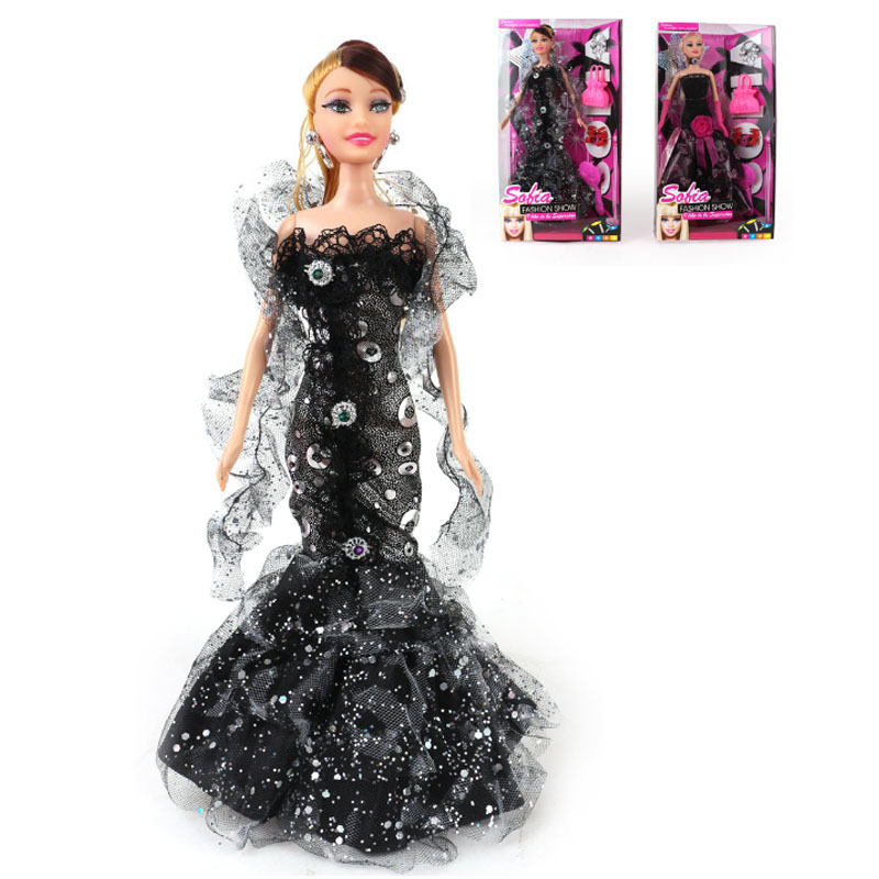 Free shipping 2015 hot sale girl's gift safety and environmental protection plastic educational doll HT2727(China (Mainland))