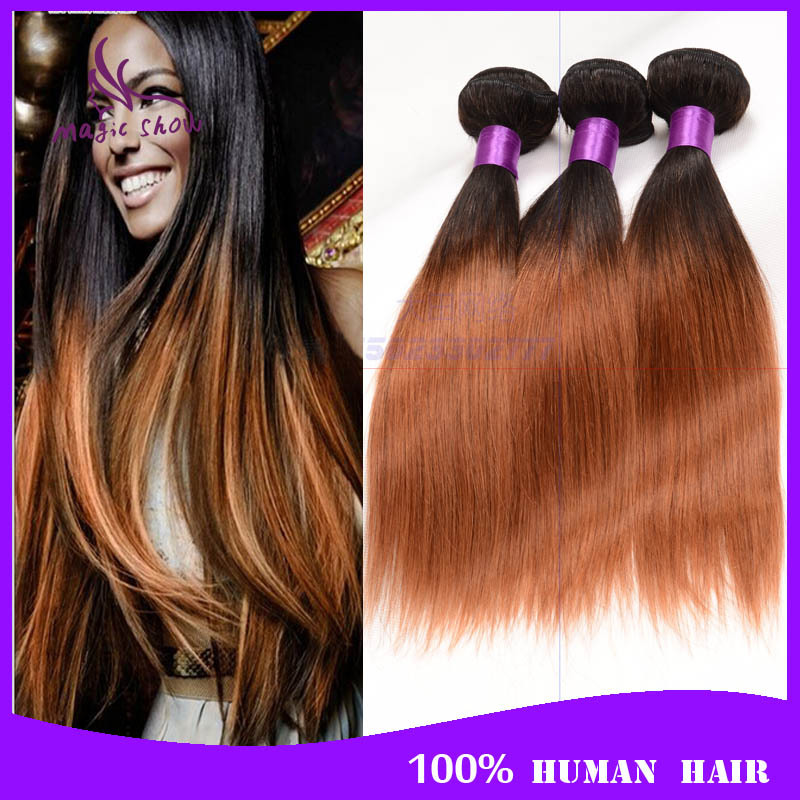 Ombre Hair Weave Brands Human Hair Extensions