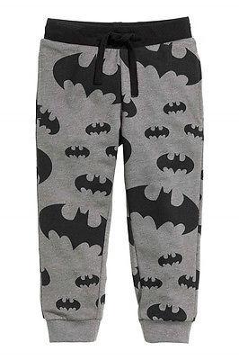 2016 весна осень мальчиков мультики бэтмен печатных брюки свободного покроя брюки детская одежда 2-7Y