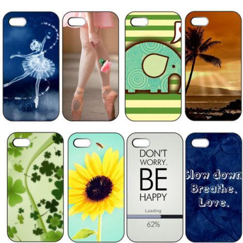 Ballet Girl Sunflower Elephant Plastic Cover Case Cases for Apple for iphone 6 and i6 4.7inch Cases for i phone 6 and i6(China (Mainland))