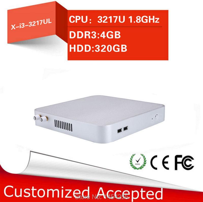 Share Mini Desktop Computer Hdmi Mini Pc Linux Thin Client Pc X26-3217UL I3 3217U Support Full Screen Movies 4g Ram 320g Hdd(China (Mainland))