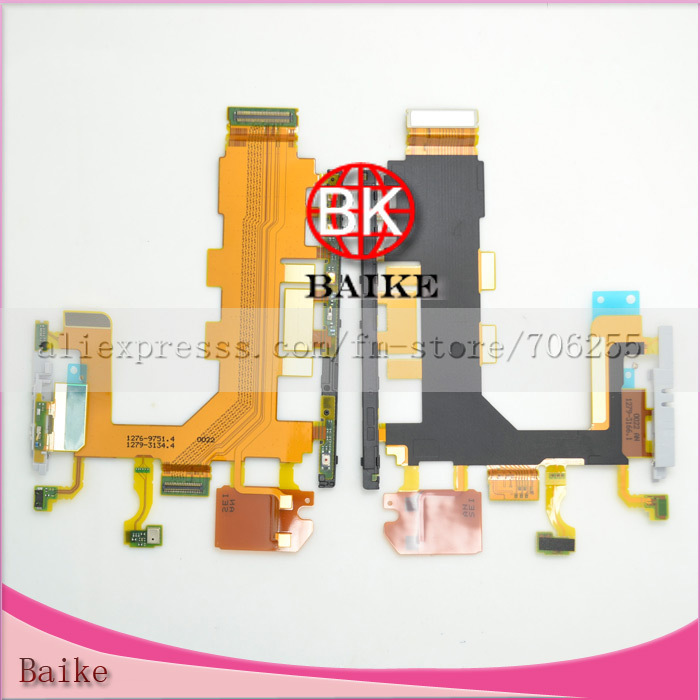 Original Power Volume Switch Flex Cable for Sony Xperia Z2 L50W D6502 100% Guarantee(China (Mainland))