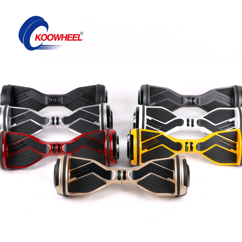 Brand 18650 smart 2 wheel self balancing electric scooter hoverboard electric skateboard hover board with LED bluetooth speaker(China (Mainland))