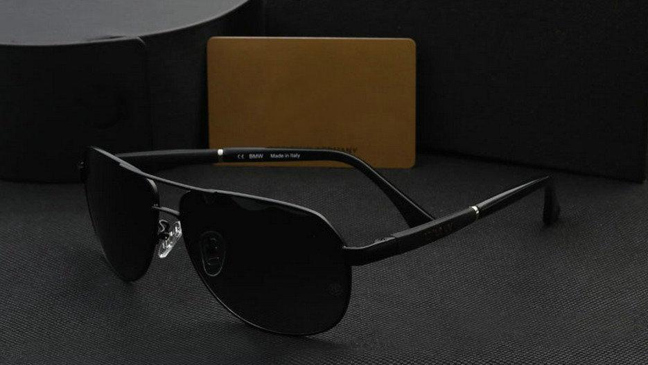 For BWM brand sunglasses tide men's business necessary safety car full frame sunglasses polarizer For BWM+counter glasses case(China (Mainland))