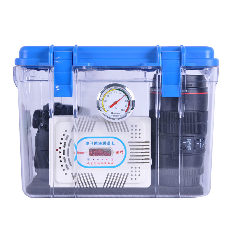 Small Anti-shock Waterproof Dry photography moistureproof box,containers Box cuboid case Camera and Lens(China (Mainland))