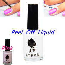 15ml Pink Soak Off Gel Polish Liquid Peel Off Nail Liquid White Gel Nail Polish ForShellac Gelpolish Primer Esmalte Para Unha 10