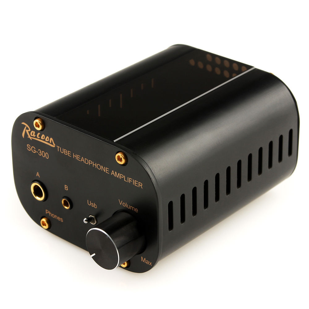 RACOON SG300 24Bit/96KHz high-quality USB Decoder DAC tube amp Black(China (Mainland))