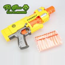 2015 new Pistol Soft Bullet Gun Plastic Toys CS Game Shooting Nerf Air Soft Gun Airgun Electric Bursts guns Electric soft gun