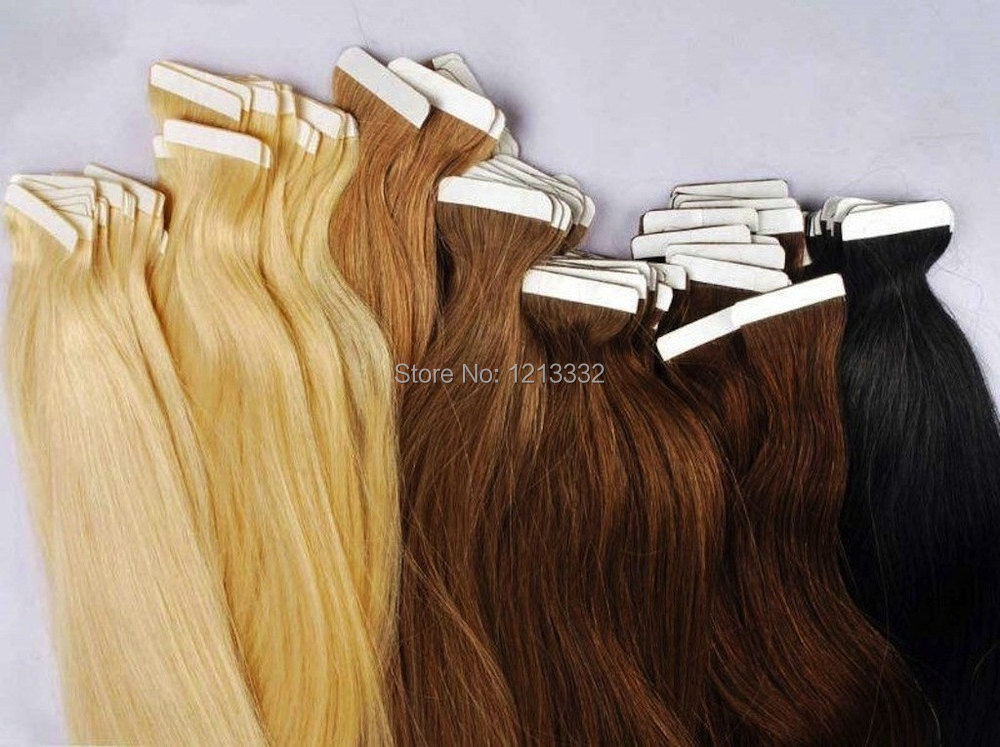 Seamless Tape Hair Extensions Reviews Remy Indian Hair