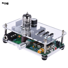 Bravo Audio V3 6922EH Tube Headphone Amplifier Amp 3 Band EQ Equalizer with Stereo RCA/ 3.5mm/ 6.35mm Jacks(China (Mainland))