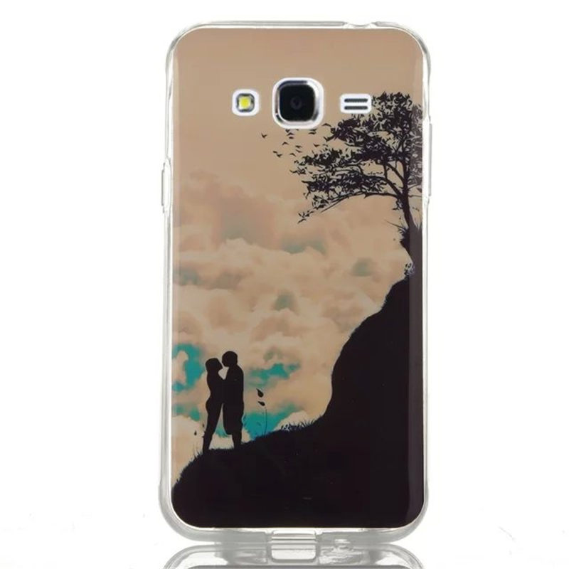 6 Patterns Styles Soft TPU Back Cover Case Samsung Galaxy J1 Ace J110 / J2 J200 J3 J300 J5 J500 - Shenzhen Shengrui Trading Co., Ttd. store