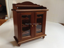 1:12 Cute Dollhouse Miniature  furniture European style classic wince cabinet(China (Mainland))