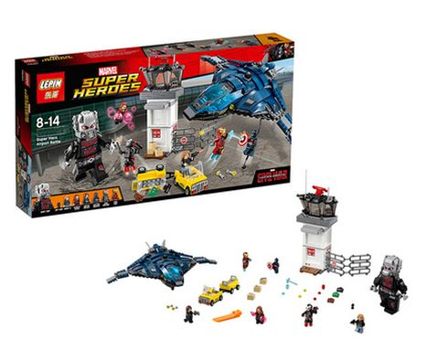 LEPIN 76051 NEW Superhero airport Wars Legoelieds DIY Building Blocks Minifigures Brick toy Compatible with 76051 in stock(China (Mainland))
