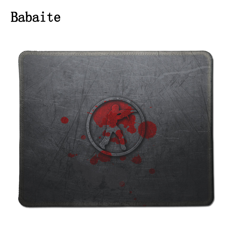 Babaite L Mouse pad Speed CSGO Anti-slip Natural Rubber Gaming mousepad used for office and home quickly Excellent for All Mouse(China (Mainland))