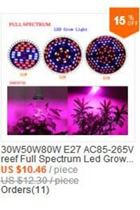 самые дешевые полный спектр 10w растущих медицинских гидропонных 85v 110v 265v красный & синий привело светать лампа лампа e27/gu10/e14 дропшиппинг