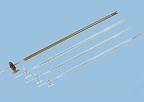 Supply of quality white base burette 25ml, A grade, billable , customized glassware