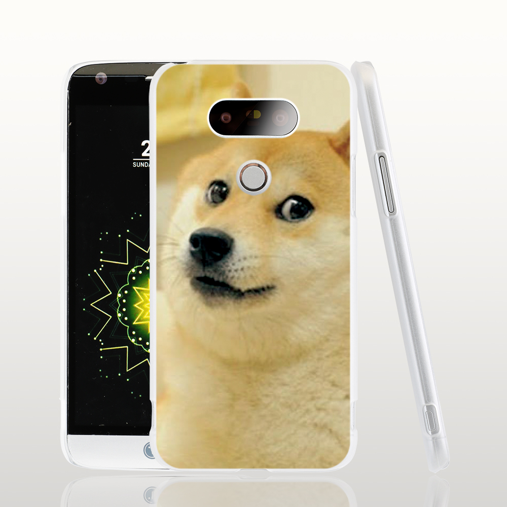 13182 Doge Internet Funny Face cell phone protective case cover for LG G5 G4 G3 K10 K7 Spirit magna(China (Mainland))