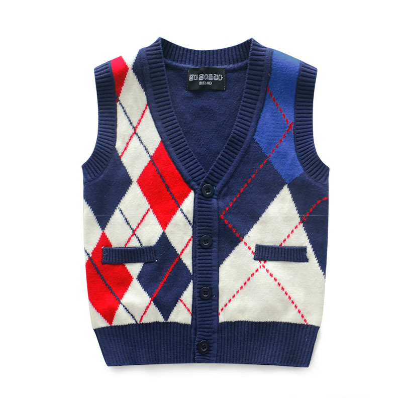 New 2015 Brand Children Clothes Baby Boy Knitted Sweater