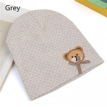 2015 Fashion New Cute Baby Hat Newborn Infant Toddler Girl Boy Baby Unisex Cap Polka Dot Beanie Cotton Hat 9 Colors lovely Kids(China (Mainland))