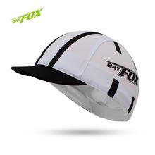 2016 BATFOX открытый мужчины велоспорт шапки полиэстер материал дышащий велосипед велоспорт Cap Hat ветрозащитный велосипеде крышка команда