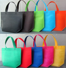 Solid Color non woven shopping bags,non-woven fabric bag with handle(China (Mainland))