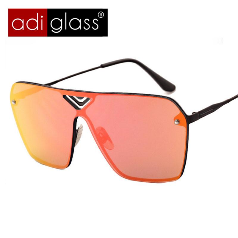 Adiglass Brand Outdoor Fashion Trend Glasses Women Mens Sunglasses Retro Large Frame Eyewear Mirror Lens Eyeglasses Google(China (Mainland))