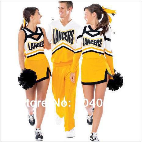 skirt sock Picture - More Detailed Picture about cheerleading uniform cheerleader outfit ...