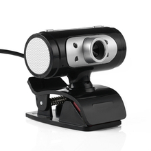 High Definition 1280*720 720p Pixel 4 LED HD Webcams Web Cam Camera With Night Lights For Computer High Quality(China (Mainland))