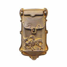 European retro do  old cast iron crafts small mailbox Postal mail Newspaper boxes Decorative wall Wall hanging Garden adornment(China (Mainland))